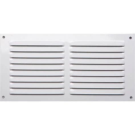 grille aeration cuisine grille d 39 aération aluminium laqué l 15 x l 30 cm leroy