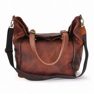 Sac Bandoulière Cuir Marron : sac cabas cuir souple vintage pour femme pratesi ~ Melissatoandfro.com Idées de Décoration