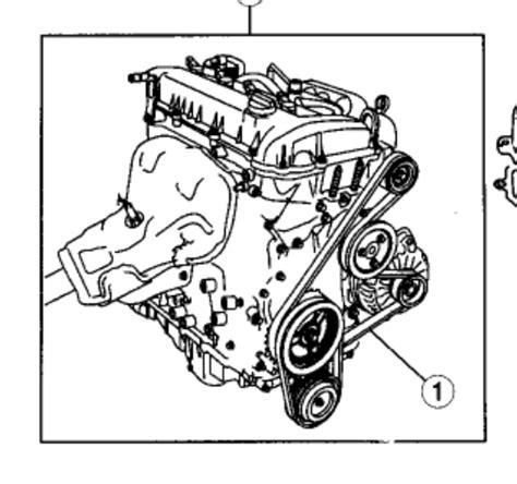 Drive Belt Diagram Rebuilding Mazda With The