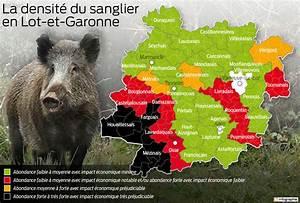 Ramoneur Lot Et Garonne : infographie la carte de la pr sence du sanglier dans le ~ Premium-room.com Idées de Décoration