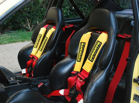 siege baquet corbeau racing harness pads comfort for harnesses gsm sport seats
