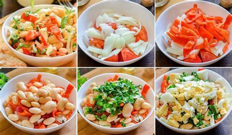Pupiņu salāti ar tomātiem un papriku - Laiki mainās!