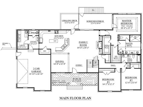 2500 Square Foot House Plans