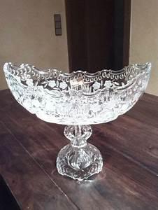 Glasschale Mit Fuß : glas kristall kristall sch sseln schalen antiquit ten ~ Watch28wear.com Haus und Dekorationen