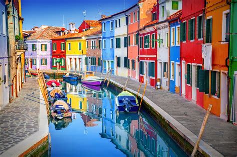 italy colorful houses photos of the most colorful towns in the world reader s