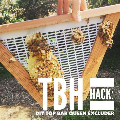 beekeeping like a 15 lifehacks for beekeepers - Top Bar Excluder