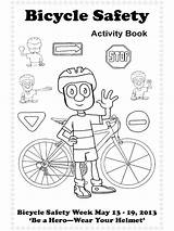 Safety Coloring Bicycle Drawing Fire Helmet Printable Road Bike Hydrants Hydrant Sheet Traffic Template Getdrawings Educational Sketch Recommended sketch template