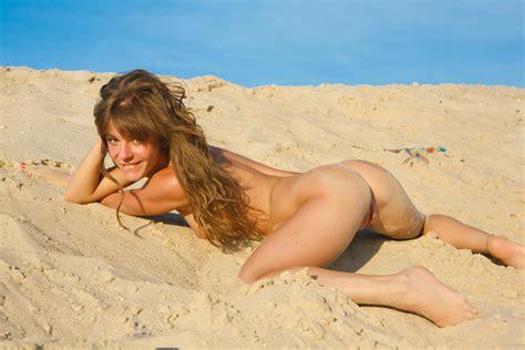 Wallpaper Nude Naked Model Beach Sand Ass Butt