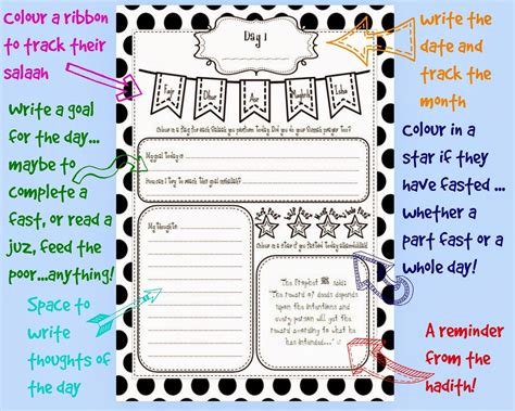 kids ramadan journal  teaching ramadan