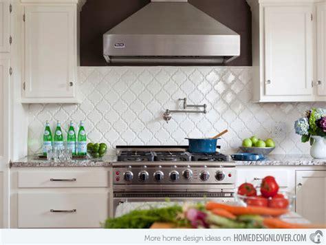 15 Beautiful Kitchen Backsplash Ideas  Decoration For House
