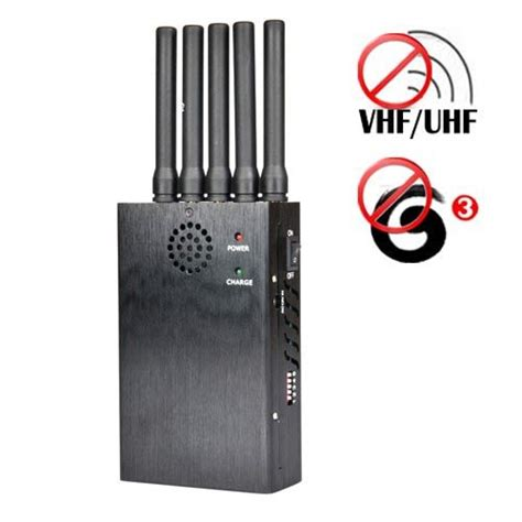 portable vhf uhf  mobile phone jammer  meters