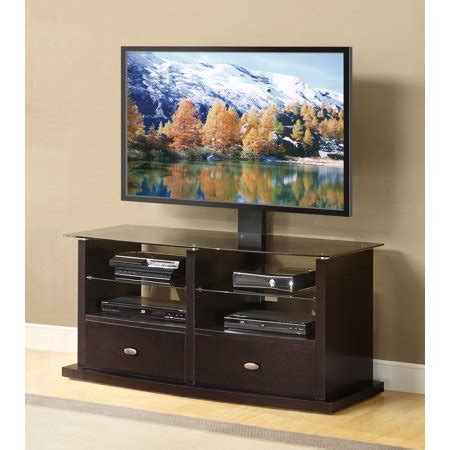 tv cabinets walmart whalen tv stand with swinging mount for tvs up to 60