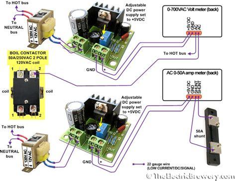 2 Pole Contactor Wiring by 2 Pole Contactor Wiring Diagram