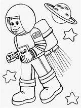 Astronaut Coloring Pages Space Kid Colouring Suit Drawing Helpers Community Astronout Booster Rocket Wearing Preschool Printable Simple Cartoon Getdrawings Netart sketch template