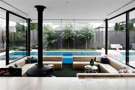 home interior ideas 2015 a sunken lounge room surrounded by a pool is the