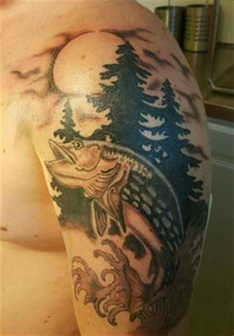 Walleye Tattoo Outline Tattoos Pinterest