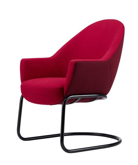 siege thonet petit fauteuil en porte à faux s 834 collection s 830 by