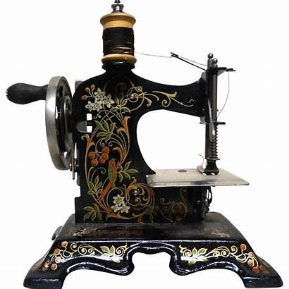 Antique Sewing Machine German Miniature Child Rubylane