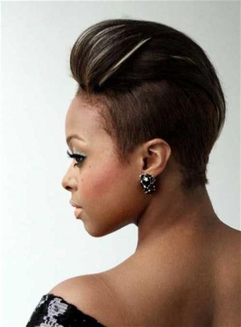 awesome pompadour black women hairstyles pinterest