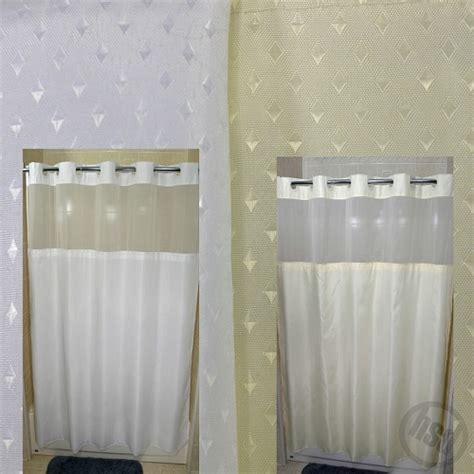 rujan peek a boo stardust style polyester shower curtain