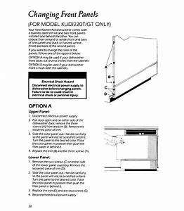 Kitchenaid Kudi220wwh4 User Manual Dishwasher Manuals And