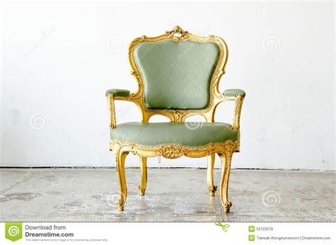 Sofá Clássico Verde Luxuoso Do Sofá Da Poltrona Do Estilo