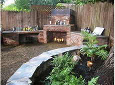 Outdoor Fireplaces and Fire Pits DIY Shed, Pergola