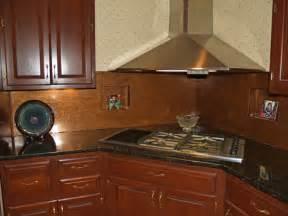 copper backsplash for kitchen copper backsplash copper kitchen backsplash