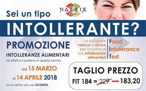 Test Intolleranze Alimentari by Soffri Di Intolleranze Alimentari Scoprilo Con Il Fit Di