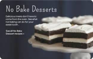 No-Bake Dessert Recipes