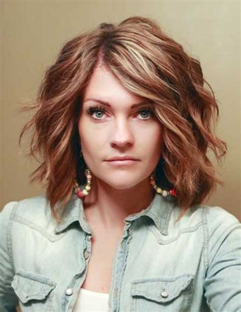 short thick wavy hairstyles short hairstyles