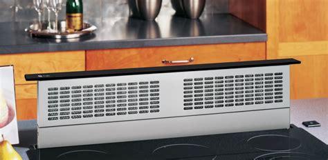 ge pvbdtbb   downdraft ventilation system   cfm internal blower  speed fan