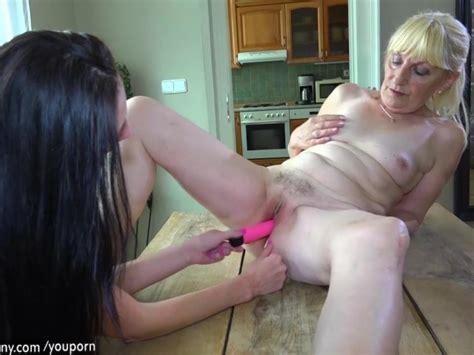 Brunette Lesbian Girl And Blonde Lesbian Mature Have Long Dildo Free Porn Videos YouPorn