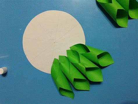 grosse blumen aus papier falten dekoking