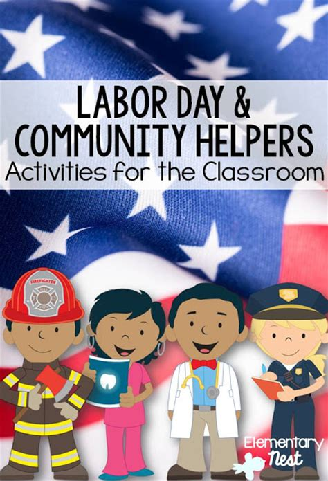 community helpers  labor day   primary classroom