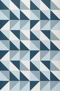 Tapete Geometrische Muster : tapete remix hellblau petrol weiss tapeten der 70er ~ Sanjose-hotels-ca.com Haus und Dekorationen