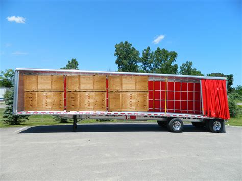 aluminum flatbed with sliding enclosure overdrive