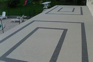 Revêtement De Sol Extérieur En Résine : terrasse en resine exterieur nos conseils ~ Dailycaller-alerts.com Idées de Décoration