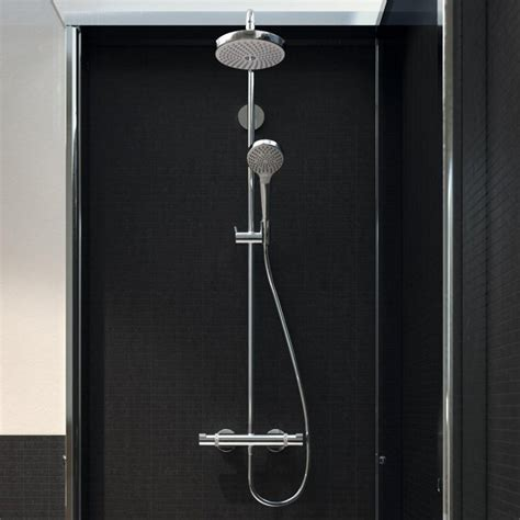 hansgrohe raindance select 420 hansgrohe raindance select s 240 1jet showerpipe uk bathrooms