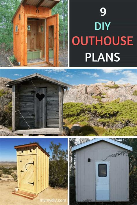 super chic diy outhouse plans  list mymydiy