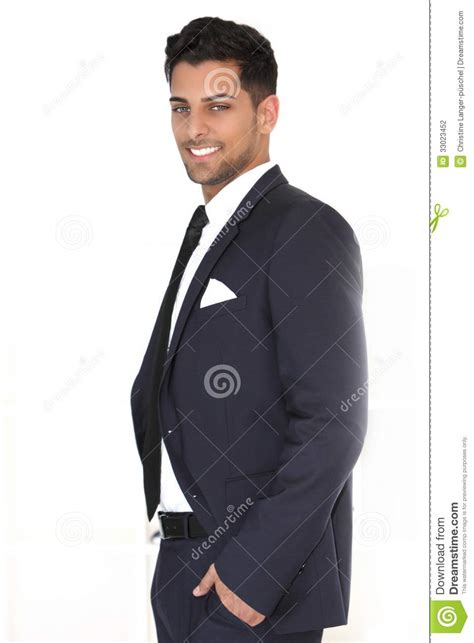 bureau d ude g ie civil relaxed successful handsome businessman stock photo