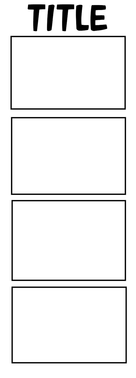 Four Panel Comic Template by 4panel Comic Template By Echa1999 On Deviantart