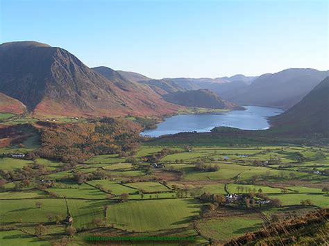 Crummock Water - View from Loweswater Fell