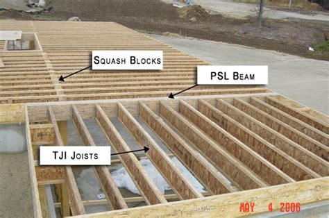 residential floor joist spacing engineered lumber used for residential floor framing