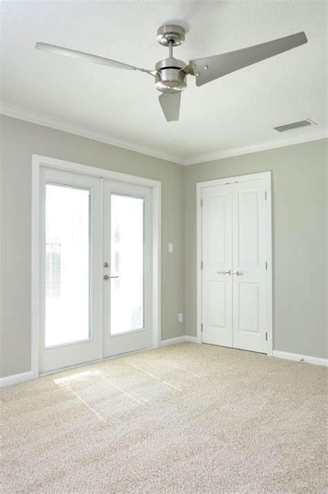 neutral paint color with white trim neutral shimmery gray walls with clean white trim double