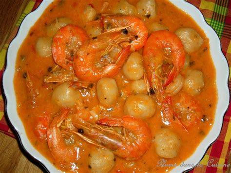 cuisine guyanaise dombr 233 aux crevettes recette de dombr 233 aux crevettes
