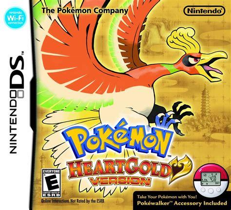 Pokemon Heartgold Version Ds Game