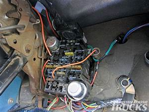 Chevrolet C10 Gets Wiring Upgrade