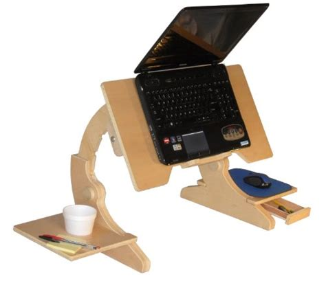 Laptop Bed Tray by Adjustable Laptop Stand Stores Laptop Bed Desk