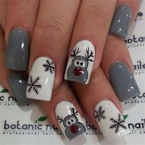 2018 christmas nails theme 74 festive nail designs for 2017 for creative